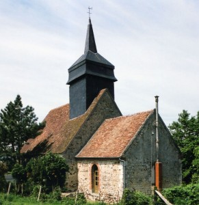 L'église vue du sud-est (2005)