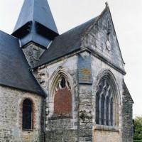 La chapelle sud vue depuis le sud-ouest (2005)