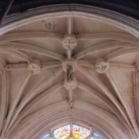 La voûte de la chapelle sud vue vers le sud (2005)