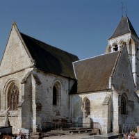 L'église vue du nord-est (2003)