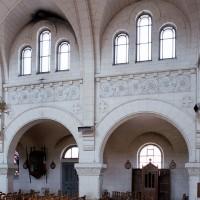 L'élévation sud de la nef (2006)