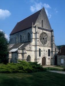 L'église vue du nord-ouest (1995)