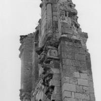 Les vestiges du clocher vus du sud (1995)