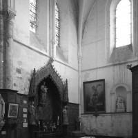 Vue partielle du bras sud du transept vers le sud-est