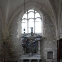 Le bras nord du transept vu vers l'est (2019)