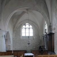 Le bras nord du transept vu vers le nord (2019)