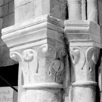 Chapiteaux de la retombée nord de l'arc triomphal du choeur (1994)