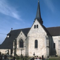 L'église vue du sud-est (1994)