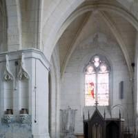 Vue partielle de la chapelle sud vers l'est (2008)
