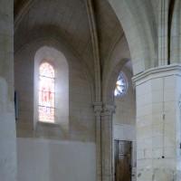 La chapelle nord du choeur vue vers le sud-est (2008)
