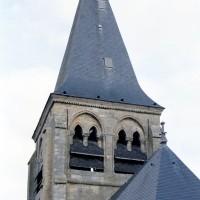 Le clocher vu depuis le nord-ouest (2008)
