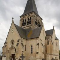 L'église vue depuis le nord-est (2017)