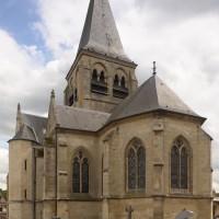 L'église vue depuis le nord-ouest (2017)