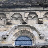 La corniche beauvaisine du mur gouttereau sud de la nef (2015)