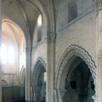 Vue partielle de la nef vers le nord-ouest (1996)