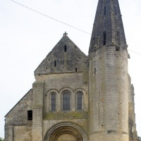 La façade ouest vue du sud-ouest (2015)