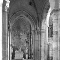 La croisée du transept vue vers le sud (1995)