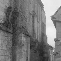 La façade nord du bras nord du transept vue du nord-est (1995)
