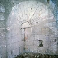 Trompe assurant le passage du plan carré au plan octogonal du clocher (1971)