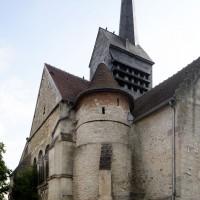 Vue partielle de l'église depuis le nord-est (2016)