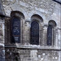Le mur de chevet vu du sud-est (1997)