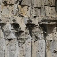 Les chapiteaux des piédroits de gauche du portail ouest (2015)