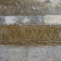 Tailloir à la croisée du transept (2015)