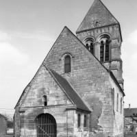 L'église vue de l'ouest (1979)
