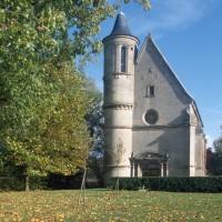 La chapelle dans son environnement vue de l'ouest (1996)