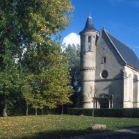 La chapelle dans son environnement vue du sud-ouest (1996)