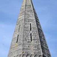 La flèche romane du clocher (2017)