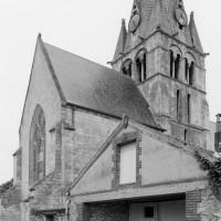 Le choeur et le clocher vus du nord-est (1979)