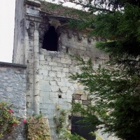 Vue partielle du mur nord du choeur depuis le nord (2000)