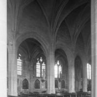 L'élévation de la nef vue vers le nord-est (1997)
