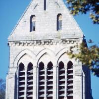 Le clocher vu du sud (1971)