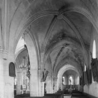 Le bas-côté sud de la nef vu vers l'est (1997)