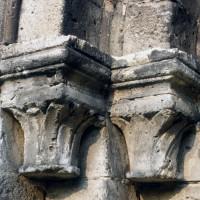 Chapiteaux de la partie gauche du portail (1997)