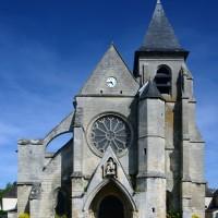 L'église vue de l'ouest (2017)