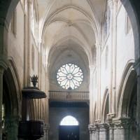 La nef vue vers l'ouest (1997)