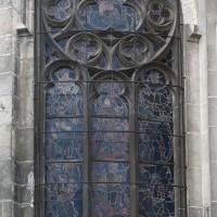 Fenêtre d'une chapelle rayonnante (2019)
