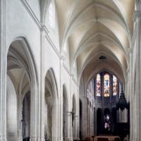 L'intérieur vu vers le nord-est (2000)