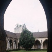 Le cloître vu vers le nord-est (2000)