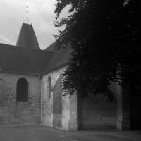 Vue partielle de l'église depuis le sud-est (1997)