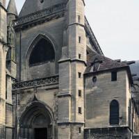 La façade vue du sud-ouest (2019)
