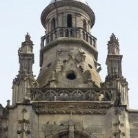Le lanternon, au sommet de la tour, vu de l'ouest (2019)