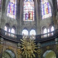 Les parties hautes de l'abside vues vers l'est (2019)