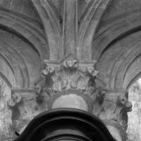 Retombée des voûtes du bas-côté au revers d'une pile de la nef (1997)