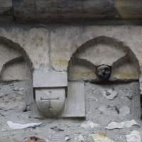 La corniche beauvaisine du mur sud de la nef (2019)