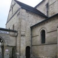 Le transept bas vu du nord-ouest (2019)