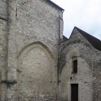 La travée du transept vue du sud-ouest (2019)